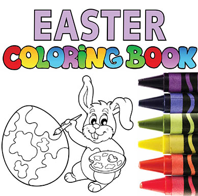 Easter Coloring Book | Green Shoot Media