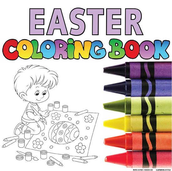 related products - Easter Coloring Book