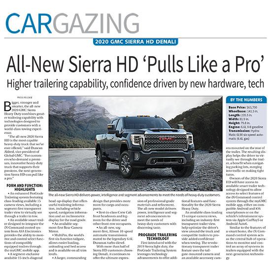 2020 Gmc Sierra Hd: 2020 GMC Sierra HD Denali